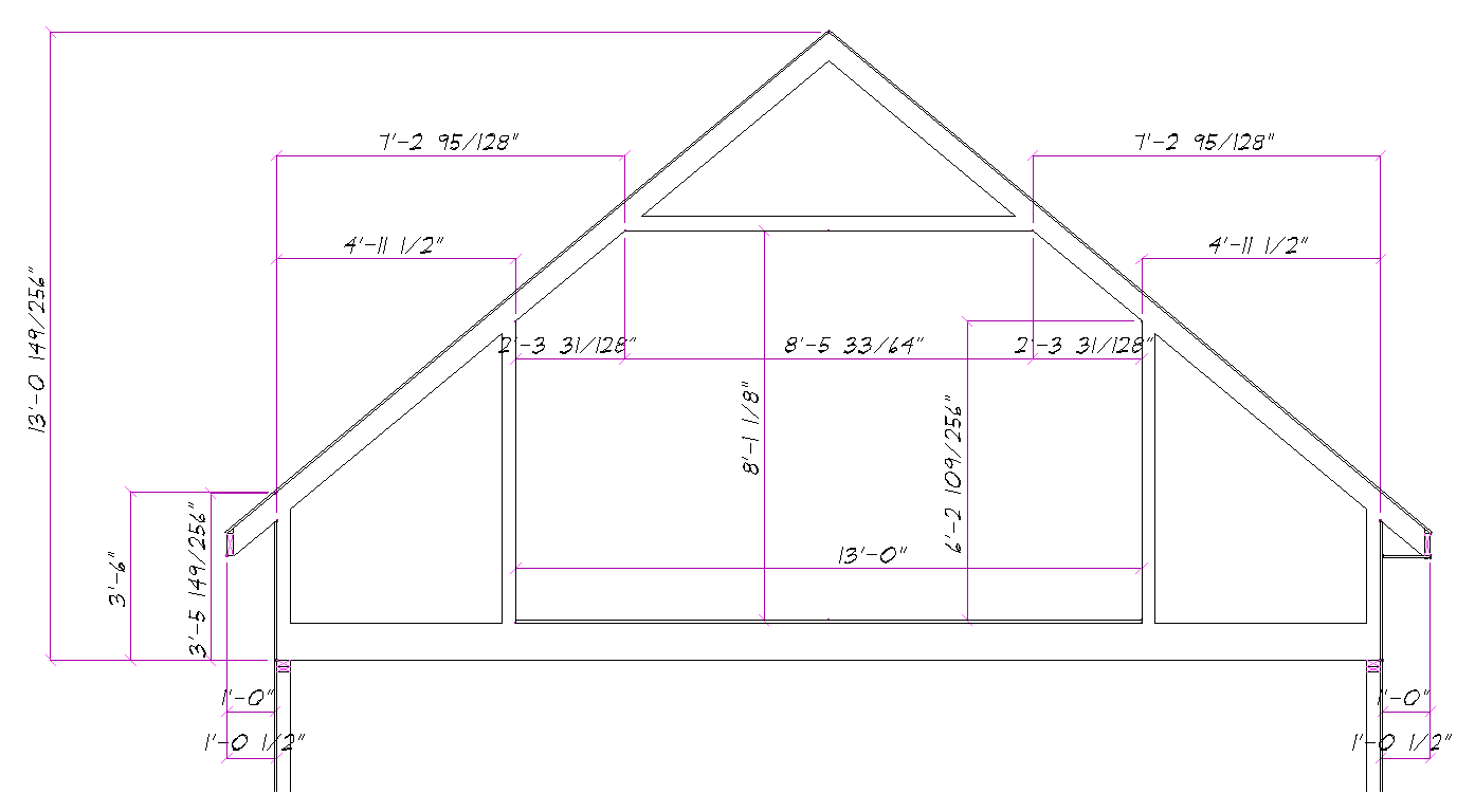 Room in attic truss design for Room design roof