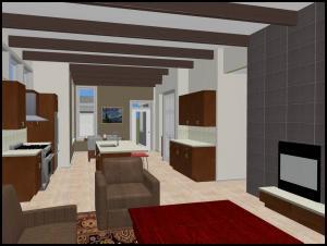 SkylightHomebuilders.com Mid Century modern interior